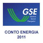 Nuovo Conto Energia 2011 GSE